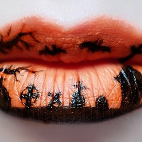 แต่งริมฝีปากเจ็บจี๊ด..รับ Halloween! 29 - Artist