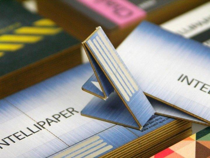 นามบัตรกระดาษ ที่เป็น USB drive ในตัว..แชร์ข้อมูลสะดวก 13 - Business Card