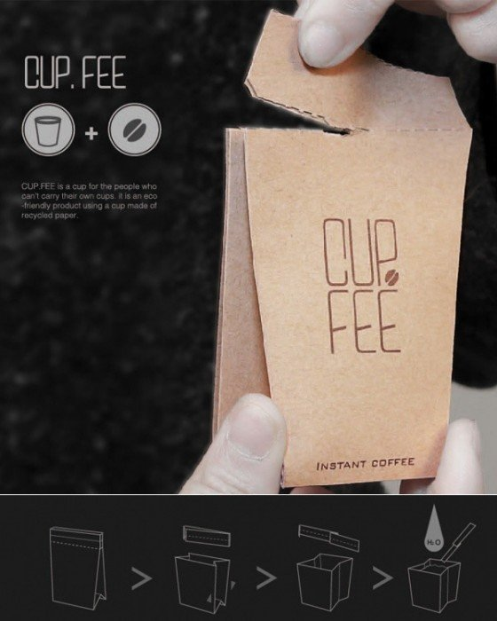 IMG 6370 CUP.FEE ดีไซน์ฉลาดๆของถ้วยกระดาษใช้แล้วทิ้ง ที่ช่วยให้พื้นที่ขยะลดลง