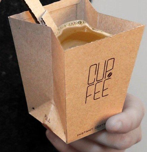 CUP.FEE ดีไซน์ฉลาดๆของถ้วยกระดาษใช้แล้วทิ้ง ที่ช่วยให้พื้นที่ขยะลดลง 13 - ถ้วยกาแฟ