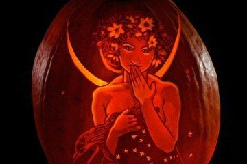 เมื่อศิลปินเปลี่ยนฟักทองเป็นธุรกิจทำเงิน ในช่วงเดือนตุลาคม 8 - Carving