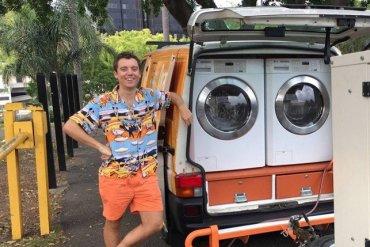 รถซักผ้าเคลื่อนที่..เพื่อผู้ไร้บ้าน 13 - homeless