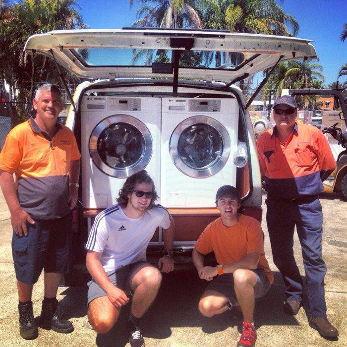 IMG 7083 รถซักผ้าเคลื่อนที่..เพื่อผู้ไร้บ้าน