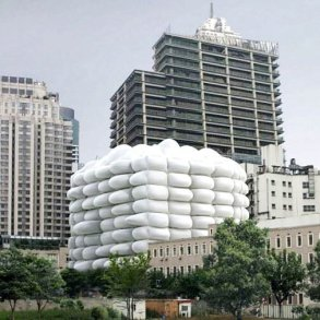 Bubble Building ..ผนังเป่าลม ป้องกันแบคทีเรีย  14 - Architecture
