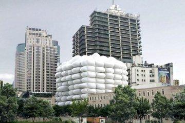 Bubble Building ..ผนังเป่าลม ป้องกันแบคทีเรีย  4 - bubble