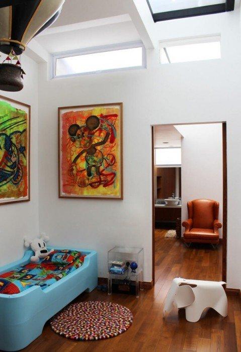 IMG 7442 ปรับปรุงทาวน์เฮาส์เก่า 60ปี เป็นบ้านสมัยใหม่ พื้นคอนกรีต สว่าง โปร่ง โล่ง
