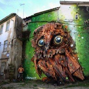 """รีไซเคิล """"ขยะ"""" ให้เป็นงานศิลปะ 3D Street Art 16 - installation art"""