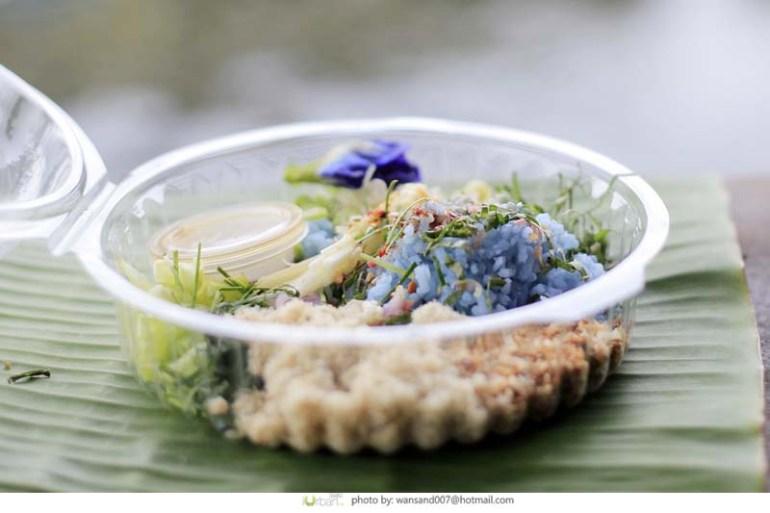 """""""ข้าวยำ + น้ำบูดู"""" อาหารเช้าสุขภาพดี ของ 3 จังหวัดชายแดนใต้ 13 - Spicy Rice Salad with Vegetable"""