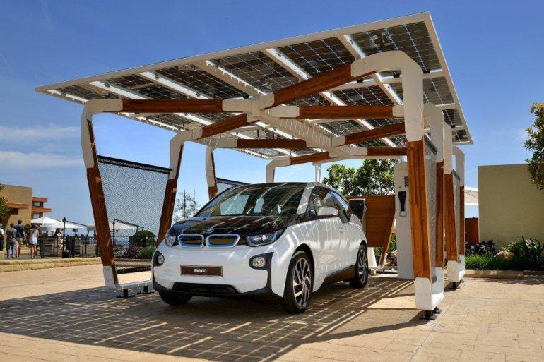 I SOLAR CARPORT ที่จอดรถชาร์จไฟด้วยพลังงานแสงอาทิตย์ 13 - Car