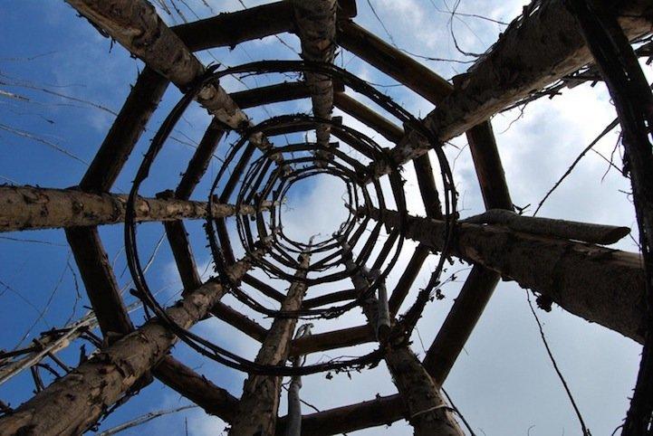IMG 8434 โบสถ์ต้นไม้..ตัวอย่างงานnatural architectureที่น่าประทับใจที่สุดในโลกชิ้นหนึ่ง
