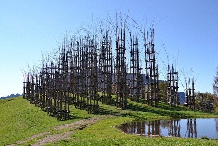 IMG 8435 โบสถ์ต้นไม้..ตัวอย่างงานnatural architectureที่น่าประทับใจที่สุดในโลกชิ้นหนึ่ง