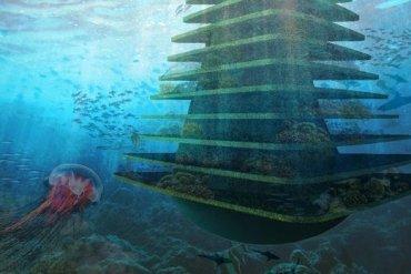 Sea Trees ..ป่าลอยน้ำ ที่พักพิงสำหรับสิ่งมีชีวิตในธรรมชาติ ในเขตเมืองหนาแน่น 14 - Verticle Garden