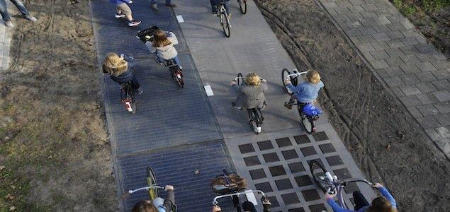 เลนจักรยานผลิตพลังงานแสงอาทิตย์แห่งแรกในโลก เปิดใช้แล้วที่เนเธอร์แลนด์ 26 - จักรยาน