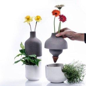 เมื่อกระถางประหยัดน้ำ อยู่ร่วมกับแจกันดอกไม้ เกื้อกูลกันและกัน ..อย่างงดงาม 17 - Planter