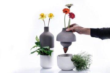เมื่อกระถางประหยัดน้ำ อยู่ร่วมกับแจกันดอกไม้ เกื้อกูลกันและกัน ..อย่างงดงาม 6 - Planter