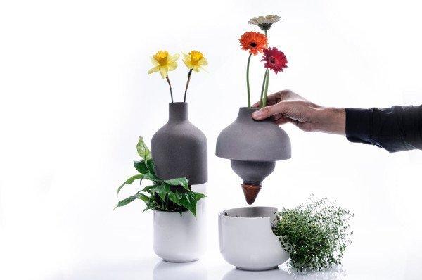 เมื่อกระถางประหยัดน้ำ อยู่ร่วมกับแจกันดอกไม้ เกื้อกูลกันและกัน ..อย่างงดงาม 17 - ออกแบบผลิตภัณฑ์