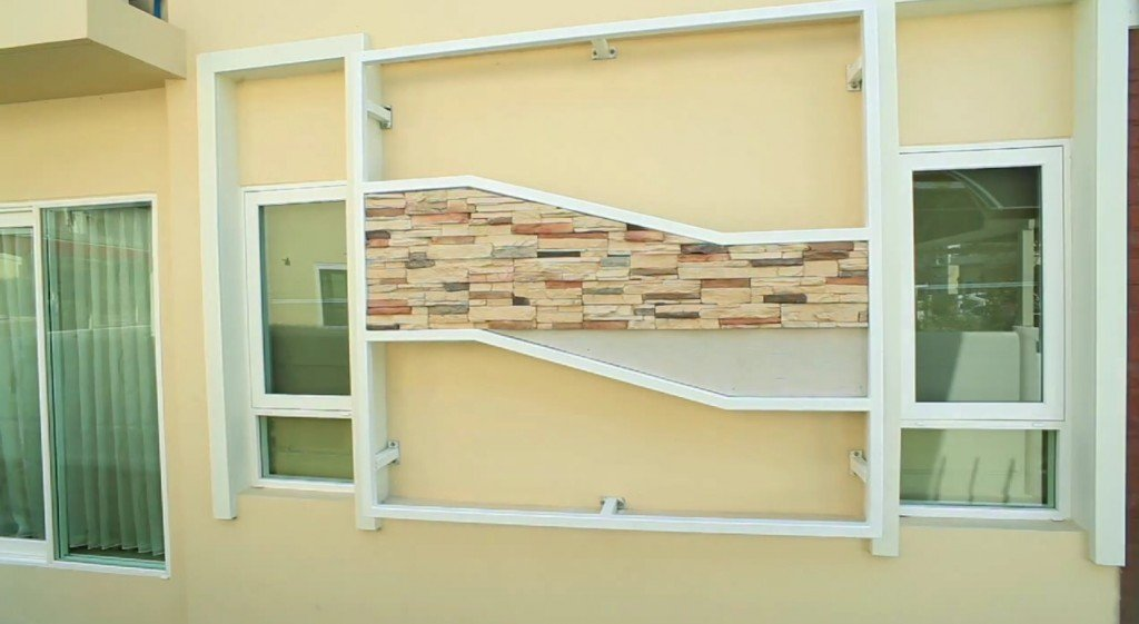 IMG 9159 DIY เปลี่ยนผนังร้อนเป็นระแนงไม้ งามง่ายๆ สบายๆ