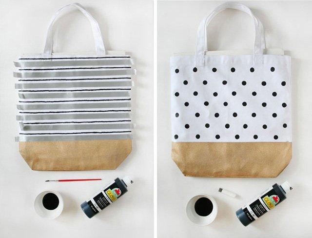 เปลี่ยนกระเป๋าผ้าธรรมดาให้น่าใช้ 10 เท่าตัว 13 - bag