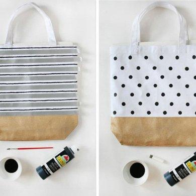 เปลี่ยนกระเป๋าผ้าธรรมดาให้น่าใช้ 10 เท่าตัว 16 - bag