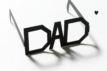 DIY: Father's Day Printable Typography Glasses แว่นสำหรับคุณพ่อสุดแนว 22 - ACTIVITY
