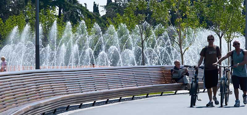 3331 Madrid Rio Project ปรับปรุงพื้นใหม่ให้เป็นพื้นที่สีเขียวกับวิถีที่ยั่งยืน