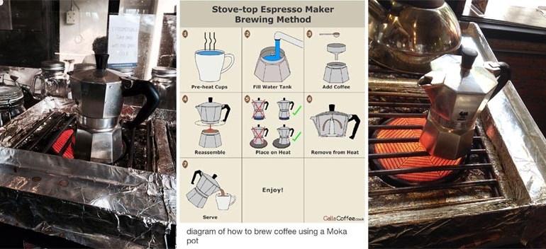 FAVOUR CAFE' ดื่มกาแฟด้วยการต้มกาแฟจากหม้อ Moka Pot 20 - FOOD