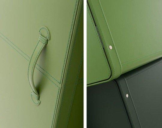 IMG 9793 0 ตู้เสื้อผ้าสไตล์กระเป๋าเดินทางหนัง ...