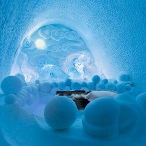 ICE HOTEL..โรงแรมน้ำแข็ง ที่สร้างใหม่ไม่ซ้ำเดิม และละลายคืนสู่แม่น้ำในทุกๆปี 17 - Hotel
