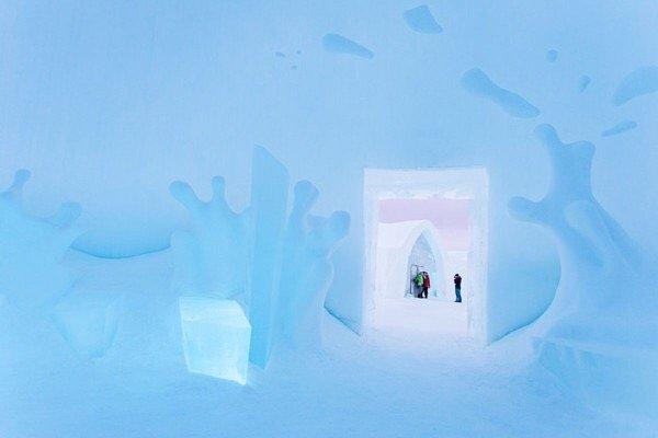 IMG 9895 ICE HOTEL..โรงแรมน้ำแข็ง ที่สร้างใหม่ไม่ซ้ำเดิม และละลายคืนสู่แม่น้ำในทุกๆปี