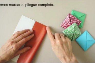 Menko..DIY ซองทำเองสำหรับวาเลนไทน์ และตรุษจีนนี้ 17 - origami