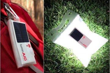 LuminAID..ไฟส่องสว่าง พลังงานแสงอาทิตย์ สะดวกพกพา สว่างนาน16 ช.ม.