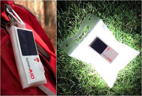 LuminAID..ไฟส่องสว่าง พลังงานแสงอาทิตย์ สะดวกพกพา สว่างนาน16 ช.ม. 18 - Lighting