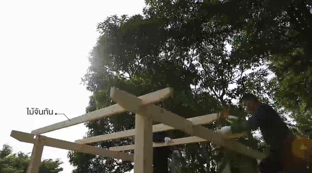 DIY ศาลานั่งเล่นในสวน ทำเองได้ง่ายๆงบไม่บาน 25 - 100 Share+