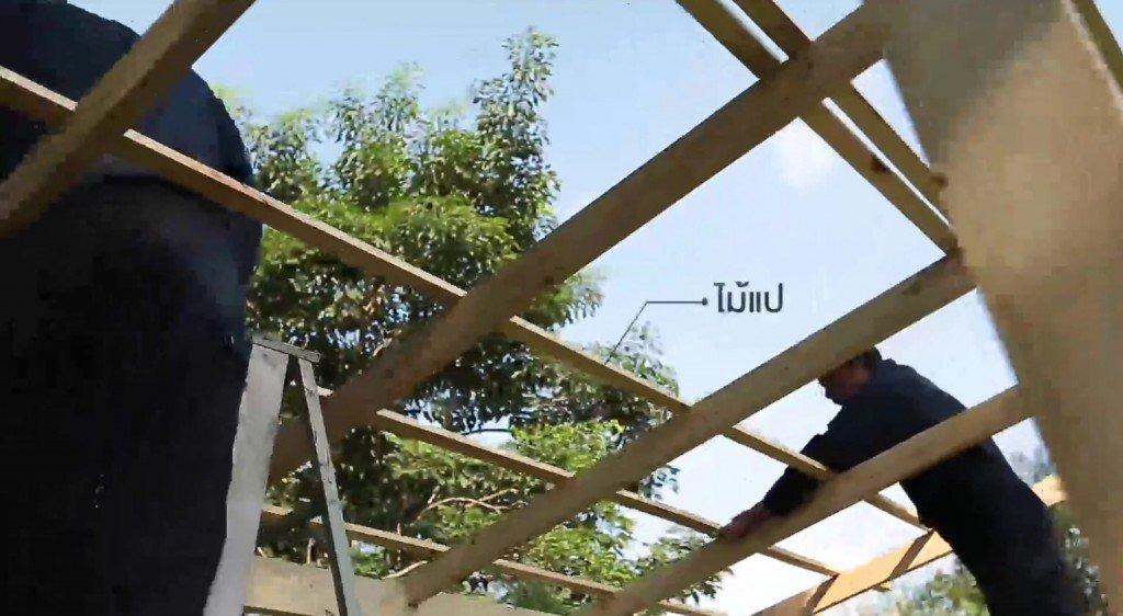 DIY ศาลานั่งเล่นในสวน ทำเองได้ง่ายๆงบไม่บาน 28 - 100 Share+