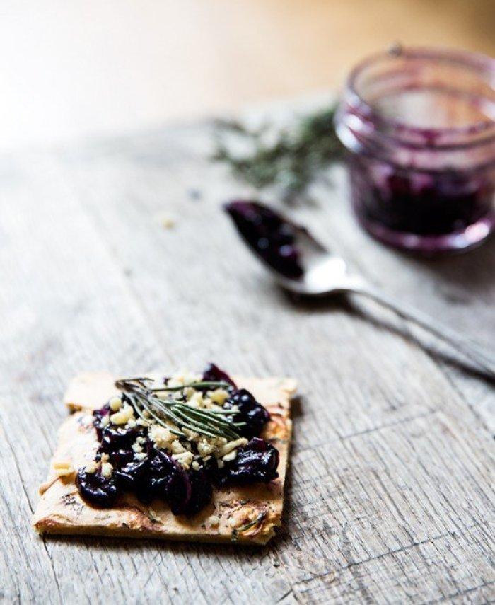 concord+grape+sauté+-+shallot+++herb+chickpea+flatbread+(socca)