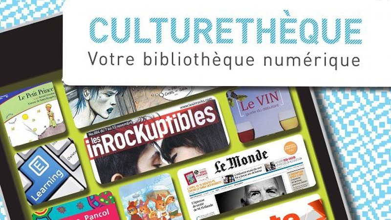 culturetheque+French+online+digital+library+news+books+magazines+youth+jeunesse