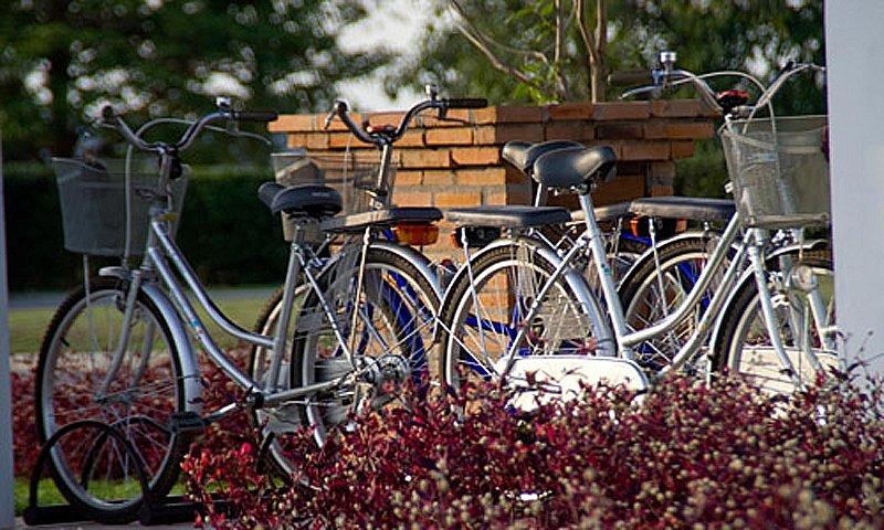 sukhothai heritage bike activities Sukhothai Heritage Resort
