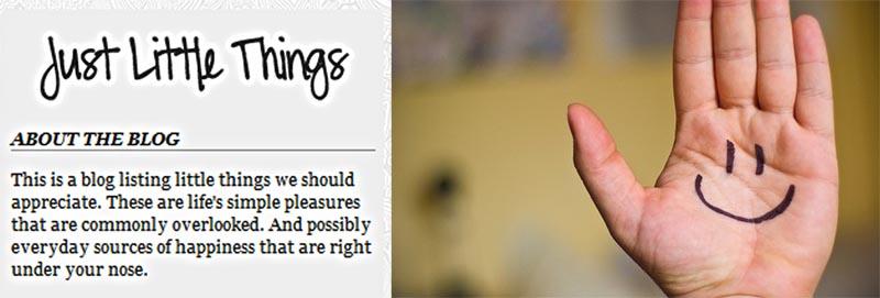 11 Just Little Things ความสุขที่เรียบง่ายและอยู่ใกล้ๆ