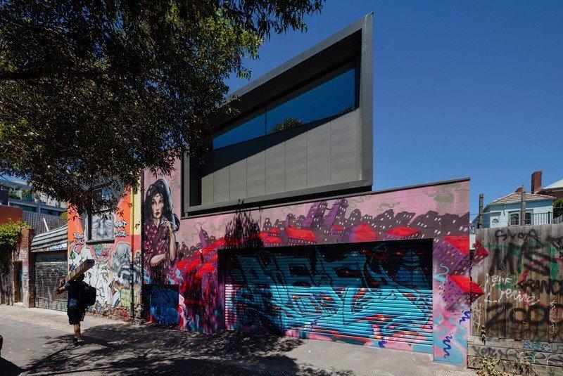 บ้านในเมือง ที่นำเอา งานGraffiti มาเป็นองค์ประกอบของบ้าน 23 - Graffiti