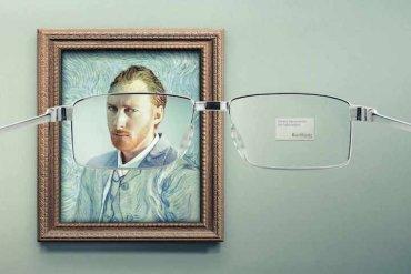 โฆษณาแว่นตา ที่แม้แต่ภาพimpressionist เบลอๆ ยังคมชัดได้! 14 - แว่นตา