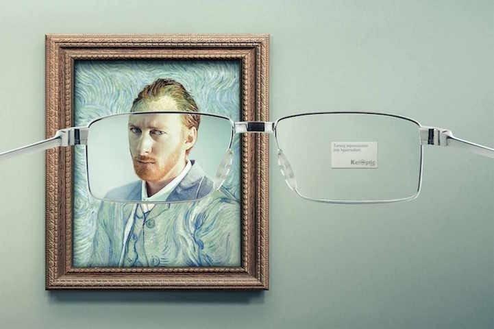 โฆษณาแว่นตา ที่แม้แต่ภาพimpressionist เบลอๆ ยังคมชัดได้! 16 - advertising