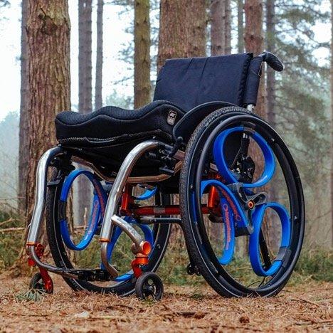 """เปลี่ยนการออกแบบ""""ล้อจักรยาน"""" ใช้สปริงแทนซี่ล้อ ช่วยลดการกระแทก 23 - จักรยาน"""
