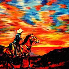ศิลปินตาบอดสนิท วาดภาพที่เต็มไปด้วยสีสันด้วยการสัมผัส พื้นผิวของสีและผ้า 17 - Art & Design
