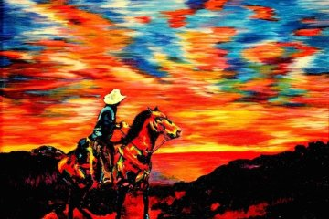 ศิลปินตาบอดสนิท วาดภาพที่เต็มไปด้วยสีสันด้วยการสัมผัส พื้นผิวของสีและผ้า 6 - Art & Design
