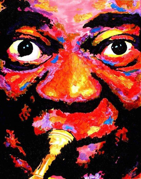ศิลปินตาบอดสนิท วาดภาพที่เต็มไปด้วยสีสันด้วยการสัมผัส พื้นผิวของสีและผ้า 16 - Art & Design