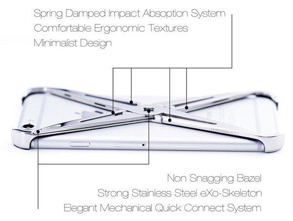 eXo iPhone case.. แรงบันดาลใจจากระบบโครงกระดูก รับแรงกระแทกได้อย่างง่ายๆ 17 - iPhone