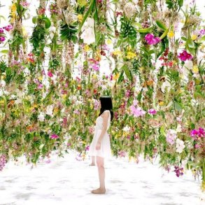 Floating-Flower-Gardenสวนดอกไม้ลอยฟ้า ที่ญี่ปุ่น 15 - floating garden