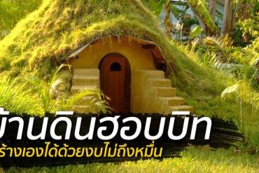 สร้างบ้านเอง Hobbit House บ้านดิน DIY ง่ายๆด้วยตัวเอง งบไม่เกินหมื่น 18 - DIY