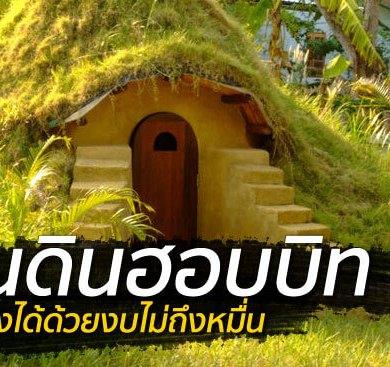 สร้างบ้านเอง Hobbit House บ้านดิน DIY ง่ายๆด้วยตัวเอง งบไม่เกินหมื่น 22 - clay house