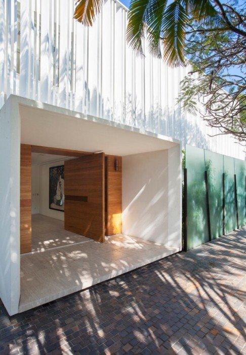 รั้วบ้านกันเสียงและได้ภาพงดงามเหมือนฝัน 16 - courtyard